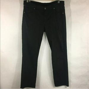 Citizen of Humanity Black Ankle Crop Jeans